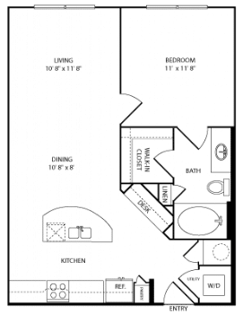 one bedroom aparments