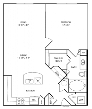 one bedroom apartments near the galleria