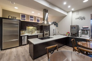One Bedroom Apartments for Rent in Houston, TX - Clubhouse Kitchen with Coffee Bar