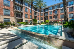 One Bedroom Apartments for Rent in Houston, TX - Pool with Tanning Shelves (2)