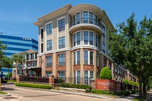 One Bedroom Apartments for Rent in Houston, TX - Exterior Community Building & Sign