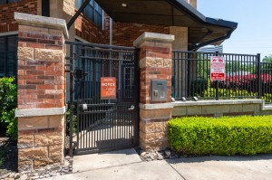 One Bedroom Apartments for Rent in Houston, TX - Exterior Personal Gated Entrance