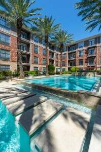One Bedroom Apartments for Rent in Houston, TX - Pool with Tanning Shelves