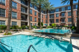 One Bedroom Apartments for Rent in Houston, TX - Pools with Tanning Shelves