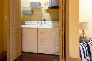 One Bedroom Apartments in Houston, Texas - Model Laundry Room