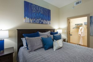 Two Bedroom Apartments for Rent in Houston, TX - Model Bedroom & Closer