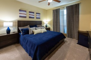 Two Bedroom Apartments for Rent in Houston, TX - Model Bedroom (2)