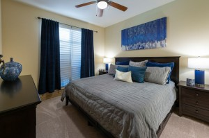 Two Bedroom Apartments for Rent in Houston, TX - Model Bedroom (3)