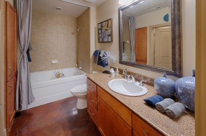 Two Bedroom Apartments for Rent in Houston, TX - Model  Bathroom